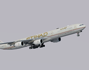 Airbus A340-600 Etihad Airways 3D asset