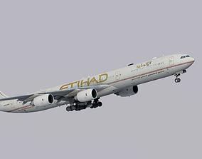 Airbus A340-600 Etihad Airways 3D asset
