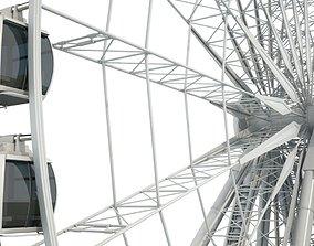Sky Ferris Wheel Maya wheel 3D