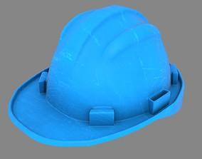 Hard Hat 01 3D model low-poly
