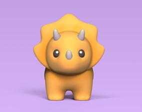 3D printable model Little Triceratops