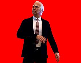 Joe Biden 3D rigged