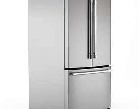 KitchenAid 25 and 2 French Door Refrigerator 3D
