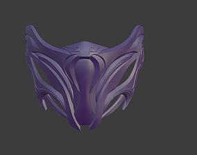3D printable model Rain mask from Mortal Kombat 11 - Third