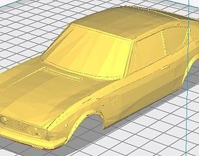 Fiat Dino Copue Printable Body Car