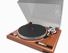 3D asset realtime Record Player