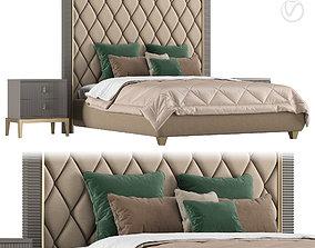 3D CAVIO CASA bed Gatsby bedside table Sidney