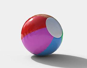 3D Beach Ball vray