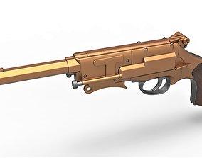 Malcolm Reynolds pistol from Firefly 3D model