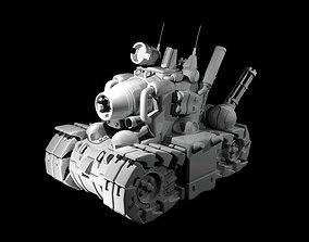 Metal Slug Tank 3D print model