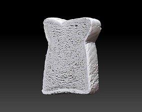 Bread Slice 3D Scan
