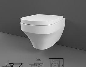 Toilet 3D interior-design