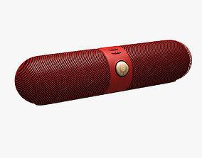 Beats Stereo Mobile Speaker 002 3D asset