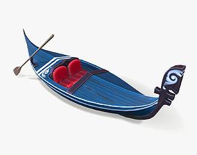 Stylized Gondola 3D asset