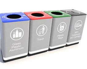 Recycle Bin-01 3D model