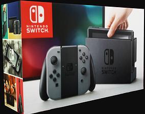 Nintendo Switch Box 3D asset