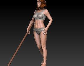 3D print model Jia beautiful fitness