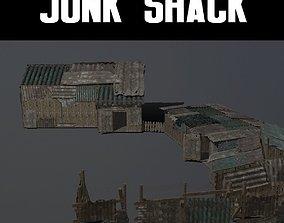 Junk Shack 3D model VR / AR ready