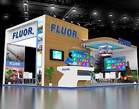 Exhibition Stand Design 8x6 3D