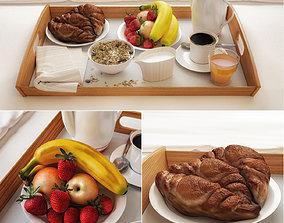3D model Breakfast in bed cookie