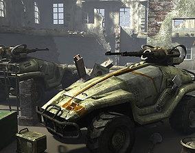 Viper Scout Vehicle 3D asset