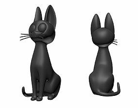 Printable Jiji Black Cat