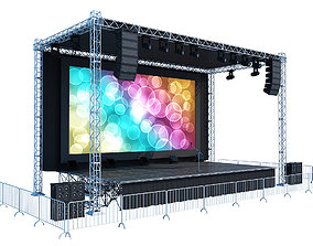 Concert Stage show 3D