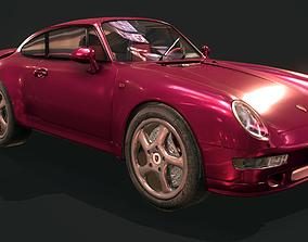 3D model realtime Porsche 911 993 Turbo