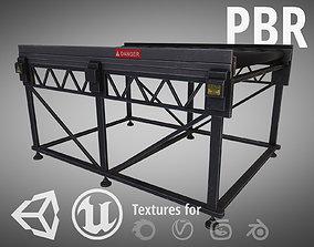 Conveyor 3D asset