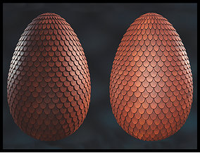 3D asset Draon Egg Collection