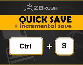 ZBrush QuickSave and Incremental Save 3D