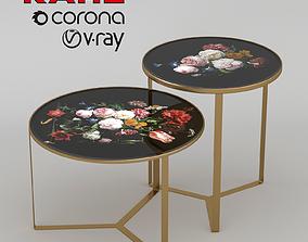 3D model KARE Side Table Flores