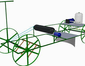 Farming Machine 3D model