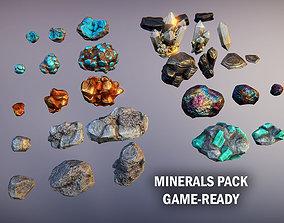 3D model Minerals pack