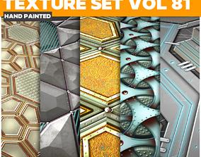 Scifi Vol 81 - Game PBR Textures 3D asset