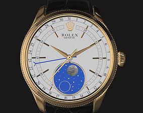 E3D - Rolex Cellini Moonphase Closed