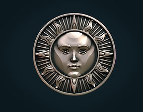 jewelry Sun Pendant 3D printable model