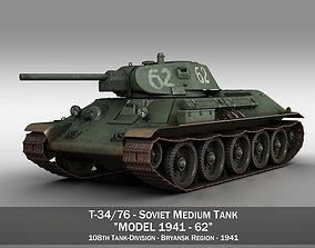 T-34-76 - Model 1941 -Soviet medium tank - 62