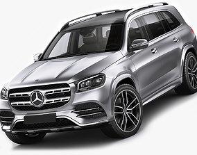 Mercedes GLS AMG-Line 2020 3D
