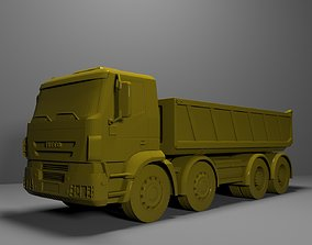Dump Truck Inveco Ready for Print