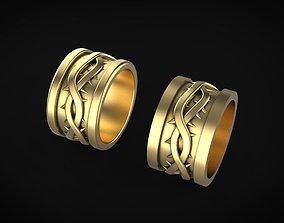 thorn wedding ring 3D printable model