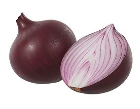 Onion 3D model PBR