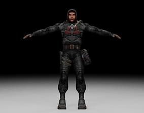 Stalker - Duty Soldier 06 3D model