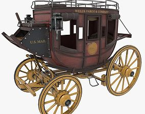 3D model Stagecoach