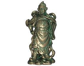 3D printable model Guan Gong Sculpture