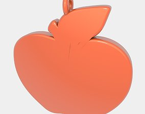 Apple Pendant 3D Printed Model printable