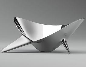 3D model Silver Bowl-Sculpture
