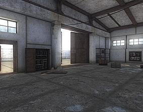 3D asset HQ Abandoned Factory