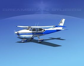 Cessna 182 Skylane V07 3D model