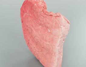 3D asset Steak